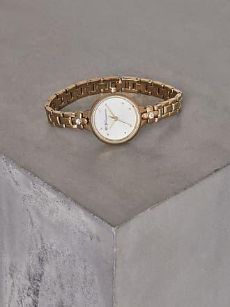 BCBGeneration Gold-Tone Crystal Bracelet Watch