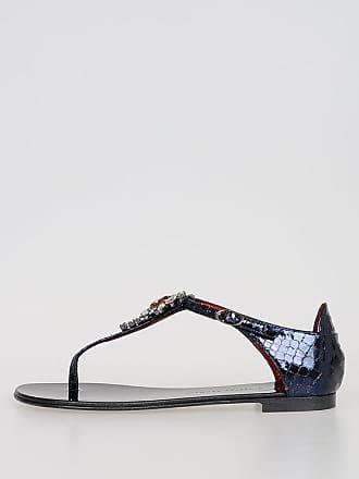 Giuseppe Zanotti Jewel Leather Sandals size 35