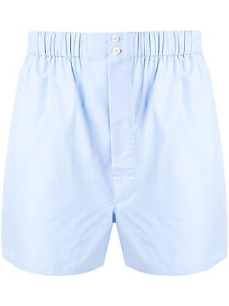 Brioni Short estilo boxer - Azul