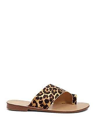 Forever 21 Forever 21 Satin Leopard Print Sandals Black/brown