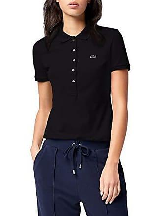 a2ba30f807 Lacoste PF7845, Polo Femme, Noir (Noir), 46 (Taille Fabricant :