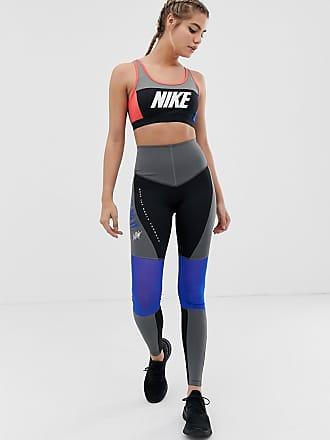 Nike Legging color block taille haute - Noir et gris - Multi c878bcd16bf