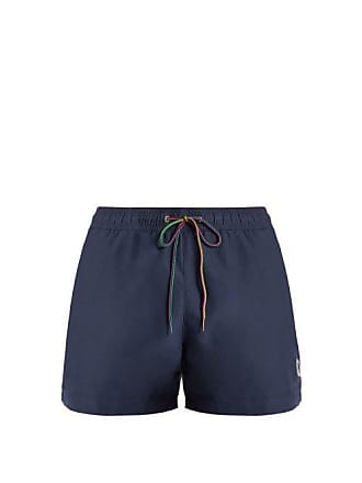 fc46e168bd Paul Smith Zebra Appliqué Swim Shorts - Mens - Navy