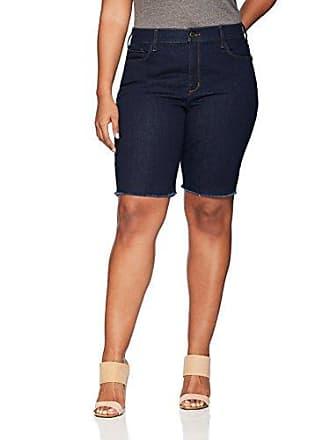059af3e8d08a2 NYDJ Womens Plus Size Briella Short with Fray Hem