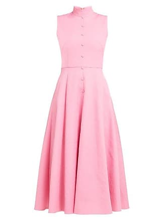 4dcd9dcacd7 Emilia Wickstead Sheila Panelled Cloqué Midi Dress - Womens - Pink