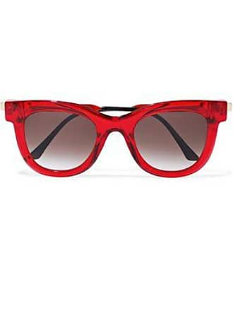 Thierry Lasry Thierry Lasry Woman D-frame Acetate And Gold-tone Sunglasses Red Size