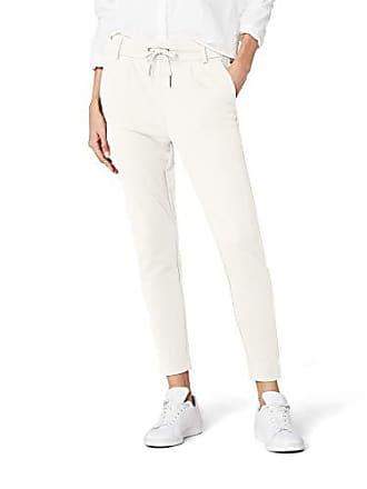 9667c57579a7 Only Nos ONLY Onlpoptrash Easy Colour Pant Pnt Noos, Pantaloni Donna, Bianco  (Cloud