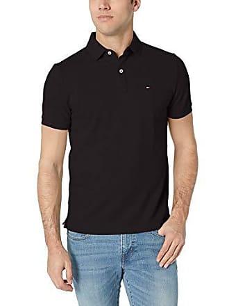 b6da0e90924 Tommy Hilfiger Mens Short Sleeve Polo Shirt in Custom Fit