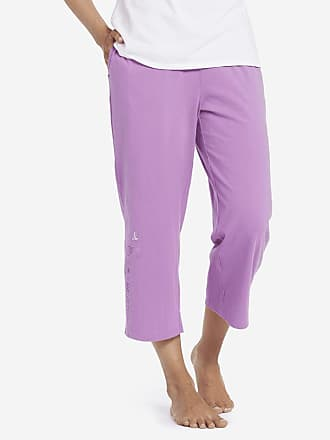 6db6d354e1f Life is good Womens Dream Doves Cropped Sleep Pants XXL Happy Grape