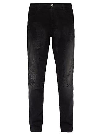 Faith Connexion Distressed Skinny Jeans - Mens - Black