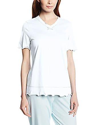 9fcf2c31a36e6 Rösch 1884033, Haut de Pyjama Femme, Weiß, 40, Weiss 10008, 38