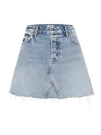 GRLFRND The Eva denim miniskirt