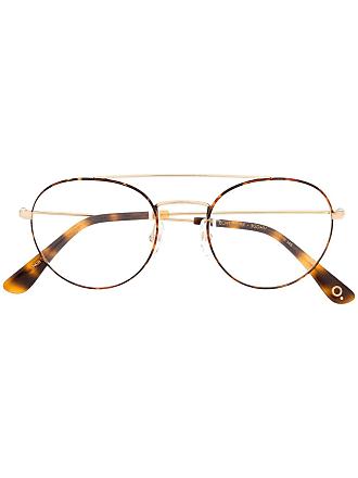 Etnia Barcelona Armação de óculos Echo Park redonda - Marrom