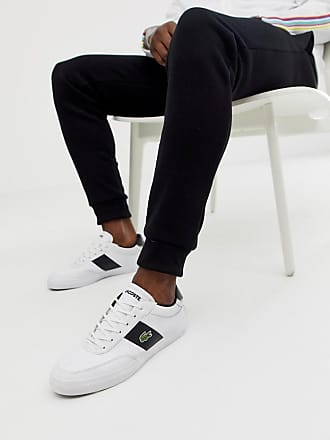 2afed1ef7 Lacoste Court Master trainers in white leather