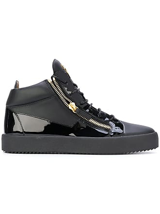 cccdadaf08aff Men's Black Leather Sneakers: Browse 148 Brands | Stylight