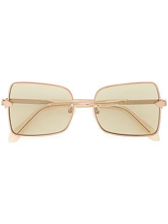 Karen Walker Óculos de sol quadrado Wisdom - Dourado