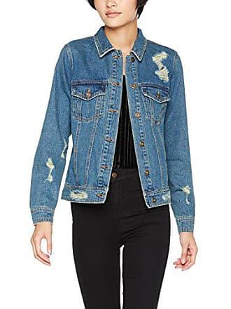 Only Onlbecky Back EMB DNM Jacket Bj11251, Veste en Jean Femme, Bleu (Medium 4e96c6d0d45d
