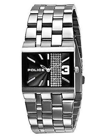 Police Relógio Police Glamour Square-X - 10501BS/02M