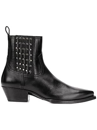 ea10bf8f4a5 Saint Laurent® Leather Boots: Must-Haves on Sale up to −76% | Stylight