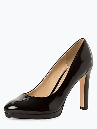 49c84051ba7a68 Buffalo Damen Pumps mit Leder-Anteil schwarz
