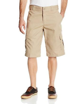 6a4fe8a324 Dickies Mens 13 Inch Relaxed Fit Stretch Twill Cargo Short, Desert Sand, 42