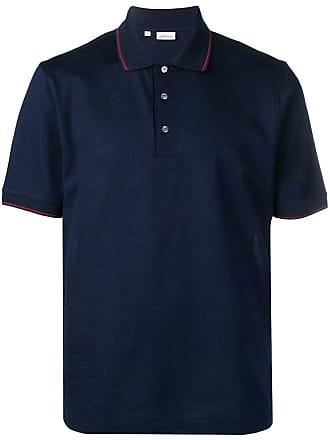 Brioni Camisa polo clássica - Azul