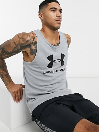 Under Armour Sports style logo vest in grey