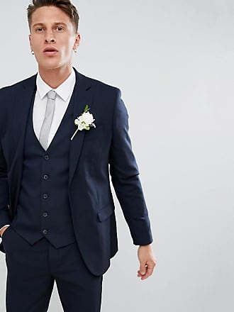 New Look skinny fit suit jacket in navy - Blue