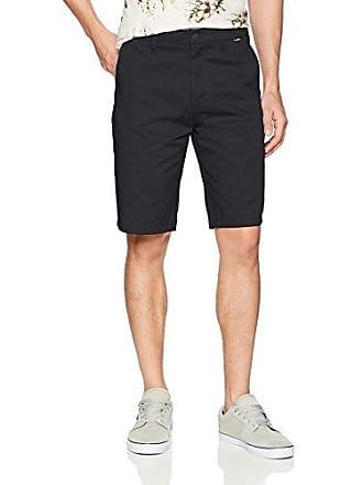 Hurley Mens Icon Chino Regular Fit 21 Shorts, Black, 40