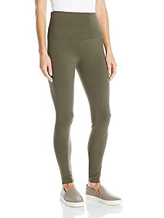 Yummie Tummie Womens Rachel Full Length Cotton Stretch Shapewear Legging, Grape Leaf, XS