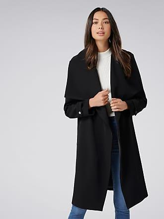 Forever New Dakota Trench Coat - Black. - 12