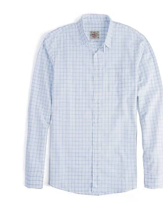 Taco Camisa Xadrez Manga Longa Branco/Azul Claro Branco/Azul Claro/GGG