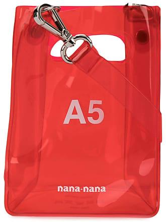 Nana-Nana Bolsa tote A5 - Vermelho