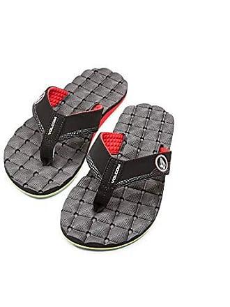 Volcom Mens Recliner Sandal, Jah, 12 M US