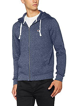 d89a75ffb510 Champion Hooded Full Zip Sweatshirt - C-Logo Sweat-Shirt à Capuche Homme  Bleu