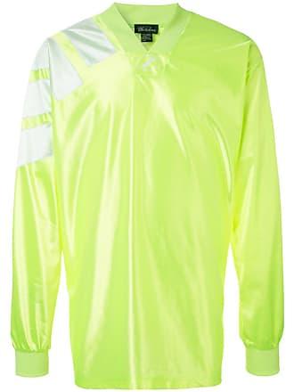 We11done Blusa oversized de jersey - Amarelo