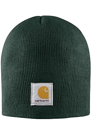 84851274568 Carhartt Work in Progress Acrylic Knit Beanie - Dark Green CHA205DGR Mens  Winter Beanie Wool Hat