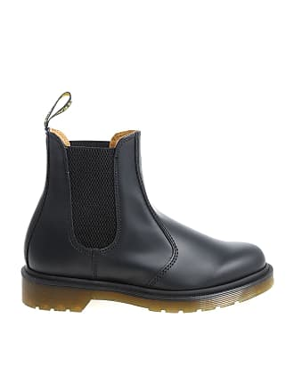 Dr. Martens Chelsea boot Smooth black ankle boots