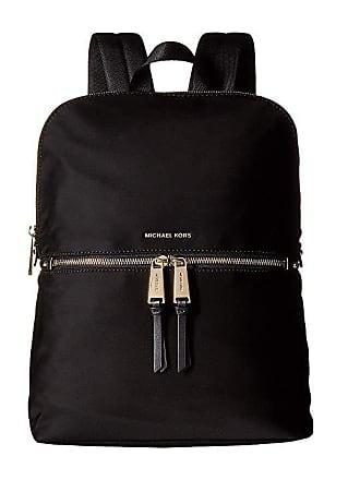 2d23d4959d04 Michael Kors Polly MD Slim Zip Backpack (Black) Backpack Bags