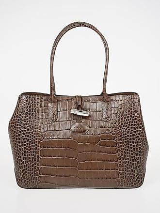 8b1446490b04 Longchamp Crocodile Printed Hand Bag size Unica