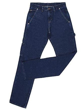 Wrangler Calça Jeans Masculina Carpinteira Azul Cowboy Cut Original Wrangler 23990