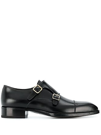 Tom Ford double monk strap shoes - Black