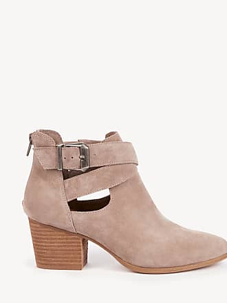 fd5fcf0b438 Sole Society Womens Azure Cut Out Bootie Taupe Size 5 Suede From Sole  Society
