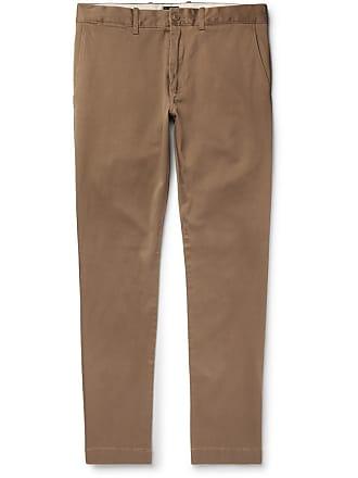 J.crew 484 Slim-fit Stretch-cotton Twill Chinos - Brown