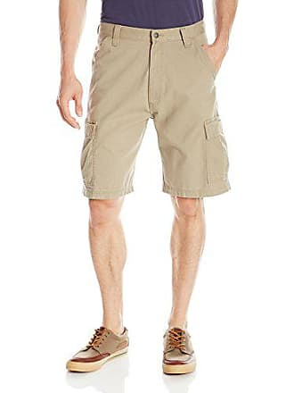 Wrangler Mens Big-Tall Authentics Classic Cargo Short, British Khaki Twill, 48
