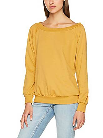 New Look Bardot Sweat, Pull Femme, (Dark Yellow), 40 df5c08b24548