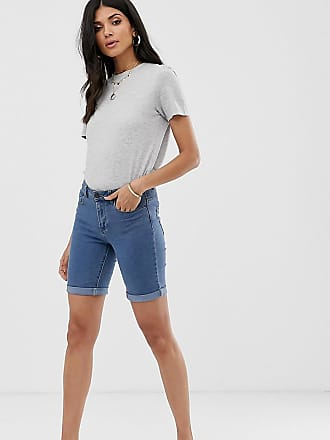 1e456650b07f71 roll hem denim shorts. Delivery: £3.00. Vero Moda Tall long shorts