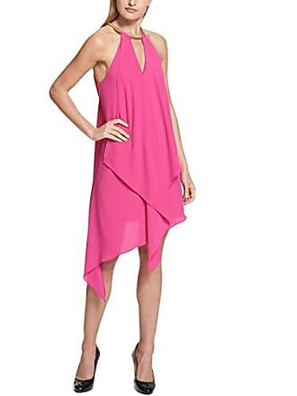 ceab52f114391 Delivery: free. Kensie Dress Womens Gold Chain Halter Neck Dress, Rose, 4