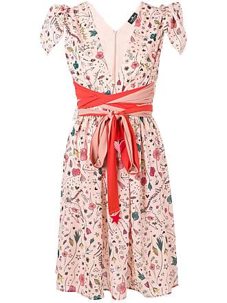 Elisabetta Franchi short-sleeve shift dress - Pink