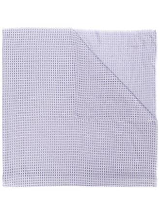 Emporio Armani check scarf - Purple